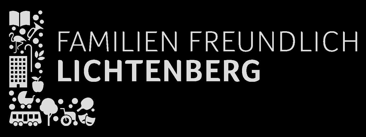 Logo des familienfreundlichen Bezirks Lichtenberg