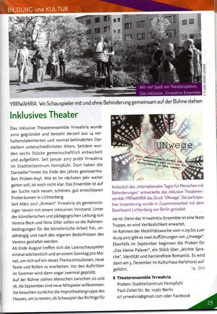 Bild des Journal Lichtenberg